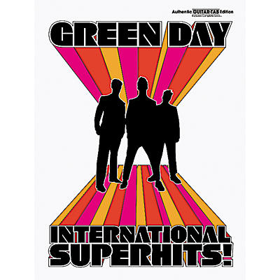 Alfred Green Day International Superhits! Guitar Tab Book