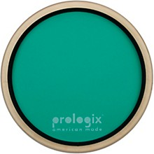 ProLogix Percussion Green Logix Practice Pad With Rim