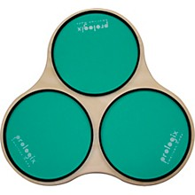 ProLogix Percussion Green Logix Sectional Practice Pad with Rims