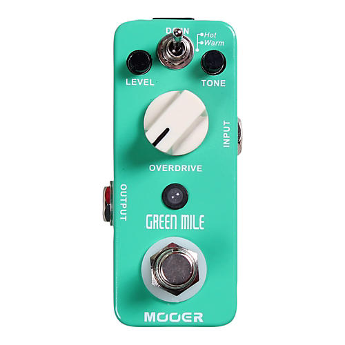 Mooer Green Mile Overdrive Guitar Effects Pedal