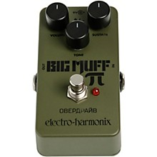 Open Box Electro-Harmonix Green Russian Big Muff Distortion and Sustainer Effects Pedal