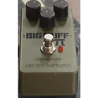 Electro-Harmonix Green Russian Big Muff Pi Fuzz Effect Pedal