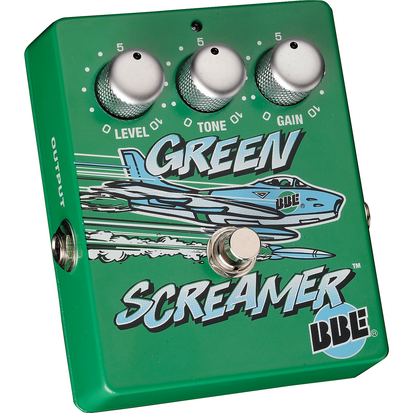 BBE Green Screamer Vintage Overdrive Guitar Effects Pedal