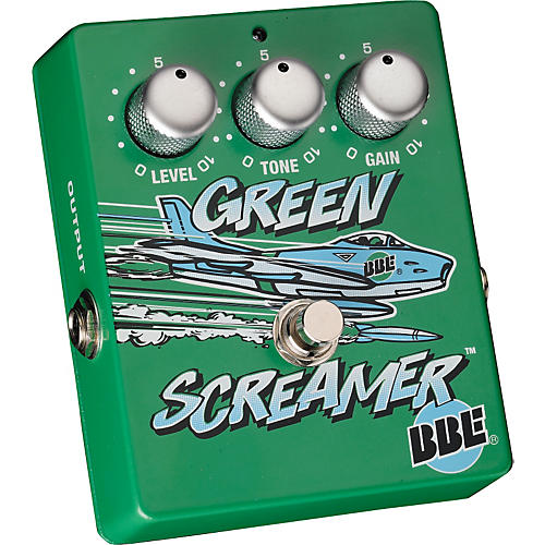 bbe green screamer vintage overdrive guitar effects pedal musician 39 s friend. Black Bedroom Furniture Sets. Home Design Ideas