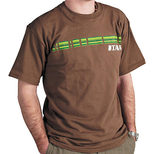 TAMA Green Stripes T-Shirt