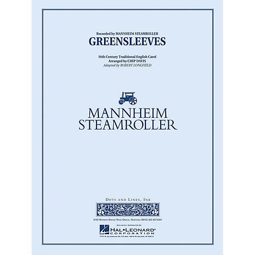 Mannheim Steamroller Greensleeves Concert Band Level 3 Arranged by Chip Davis