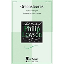 De Haske Music Greensleeves SAB arranged by Philip Lawson