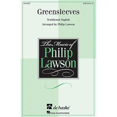 De Haske Music Greensleeves SAB arranged by Philip Lawson