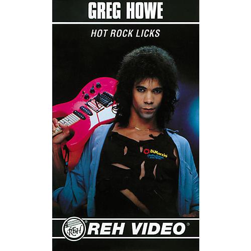 Alfred Greg Howe Hot Rock Licks (Video)