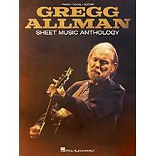 Hal Leonard Gregg Allman Sheet Music Anthology Piano/Vocal/Guitar Songbook