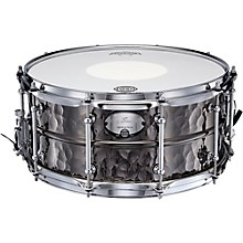 Dixon Gregg Bissonette Hammered Brass Signature Snare Drum