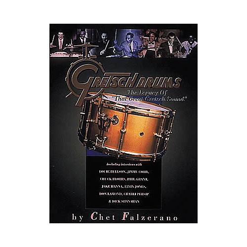 Hal Leonard Gretsch Drums Soft Cover Book