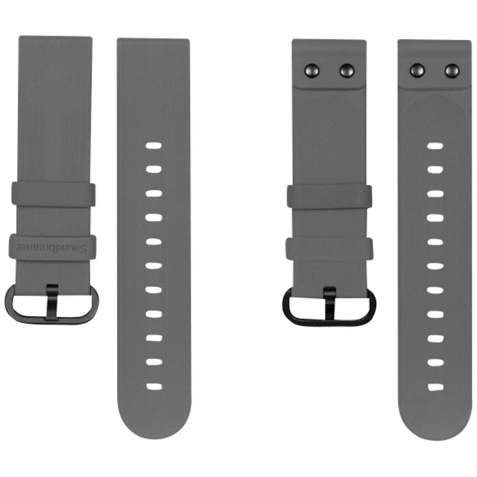 Soundbrenner Grey Silicone Strap for Core and Core Steel