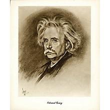 Hal Leonard Grieg (Lupas Large Portrait Poster) Music Sales America Series
