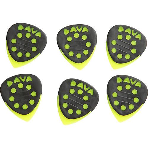 Dava Grip Tips Nylon Medium 6-Pack Light Green
