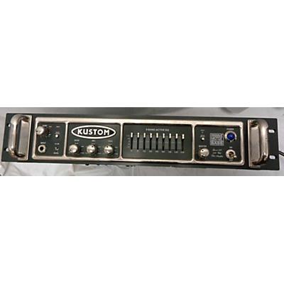 Kustom Groove 600hd Bass Amp Head