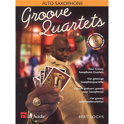 De Haske Music Groove Quartets De Haske Play-Along Book Series Book with CD  by Bert Lochs