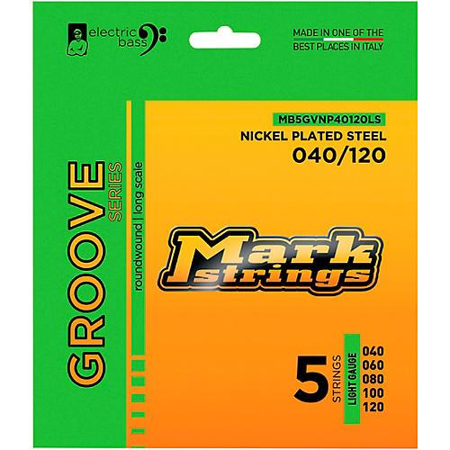 Markbass Groove Series Electric Bass Nickel Plated Steel Strings (40 - 120) Light Gauge