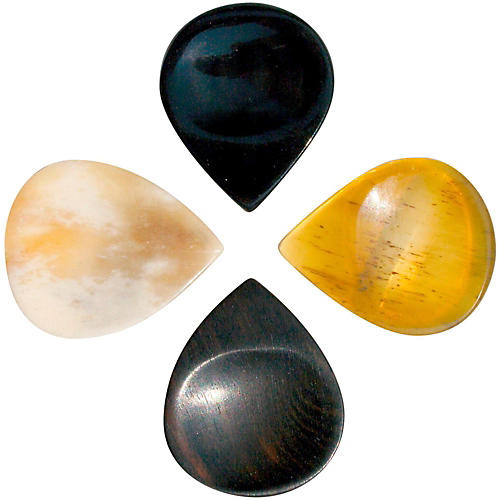 Timber Tones Groove Tones Mixed Bag of 4 Guitar Picks