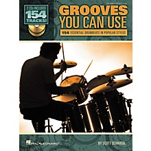 Hal Leonard Grooves You Can Use - 154 Essential Drumbeats in Popular Styles (Book/CD)
