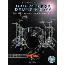 Ricordi Grooves for Drums and Bass - Over 200 Rhythms in Many Different Styles (Book/CD)