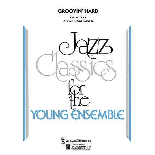 Hal Leonard Groovin' Hard Jazz Band Level 3 by Buddy Rich Arranged by Dave Barduhn