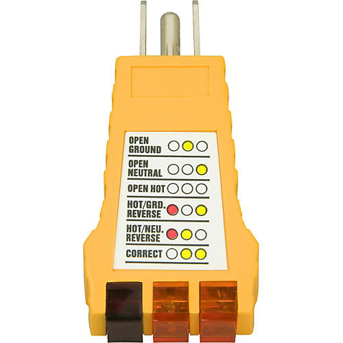 American Recorder Technologies Ground Fault Outlet Receptacle Tester