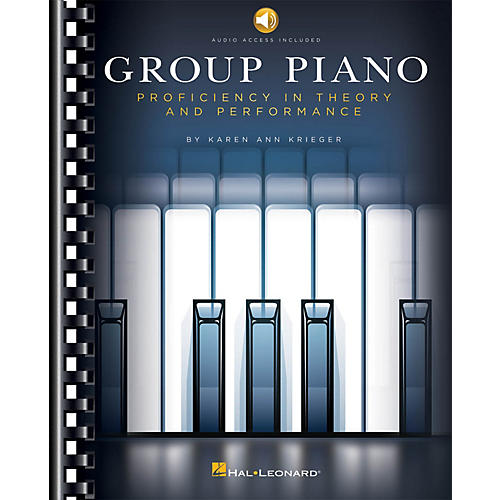 Hal Leonard Group Piano - Proficiency In Theory And Performace Book/Audio Online