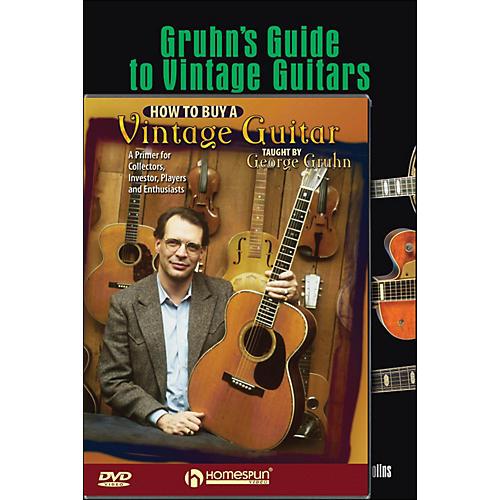 Hal Leonard Gruhn Vintage Guitar Mega Pack
