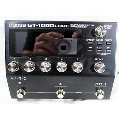 Boss Gt1000 Core Effect Processor