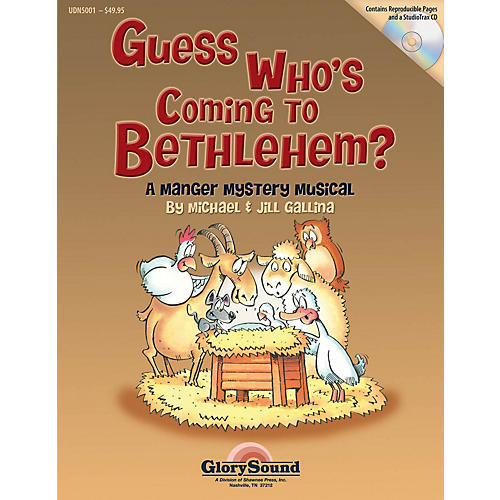 Shawnee Press Guess Who's Coming to Bethlehem? Listening CD Composed by Jill Gallina