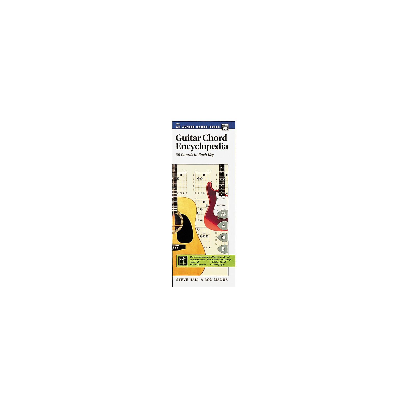 Alfred Guide Guitar Chord Encyclopedia Book