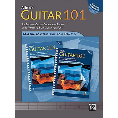 Alfred Guitar 101 Book 1 & 2 Teacher's Handbook