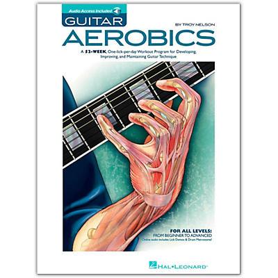 Hal Leonard Guitar Aerobics - Book/Online Audio Pack