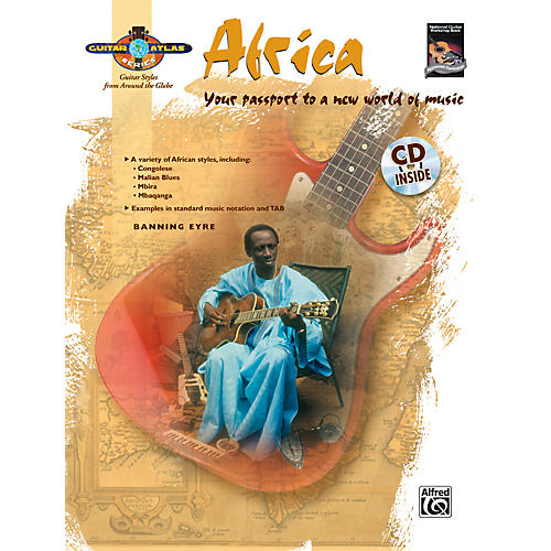 Alfred Guitar Atlas: Africa (Book/CD)