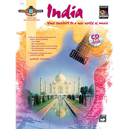 Alfred Guitar Atlas: India (Book/CD)