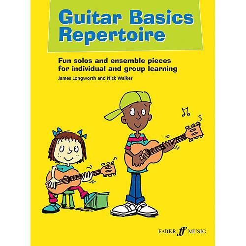 Faber Music LTD Guitar Basics Repertoire Book/CD