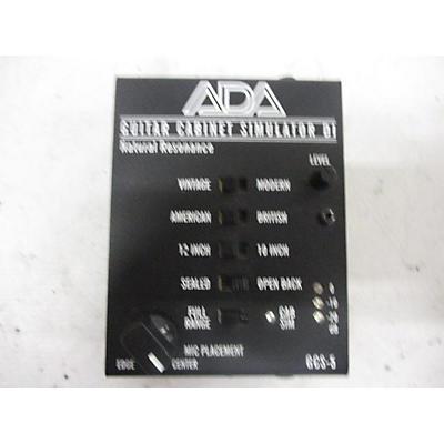 ADA Signal Processors Guitar Cabinet Simulator Direct Box