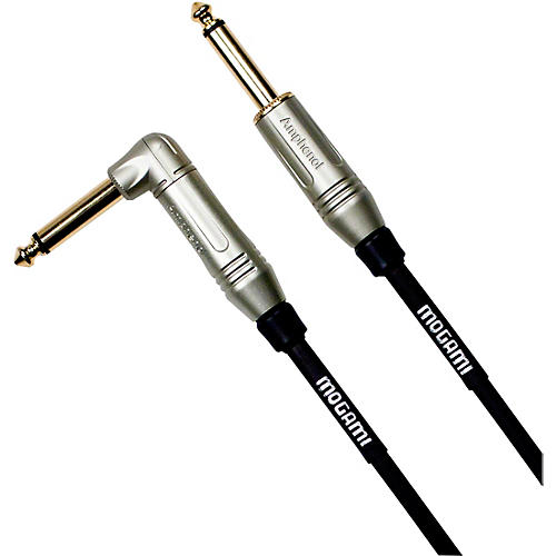 Mogami Guitar Cable Straight to Right Angle 18 ft.