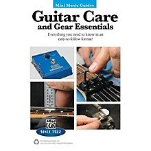 Alfred Guitar Care and Gear Essentials Mini Music Guides Book