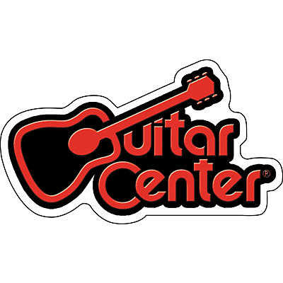Guitar Center Guitar Center Logo Sticker