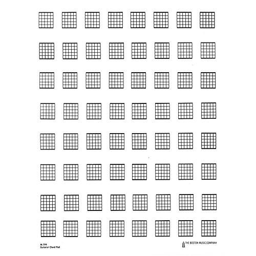 Music Sales Guitar Chord Pad Music Sales America Series Softcover Written by Various Authors