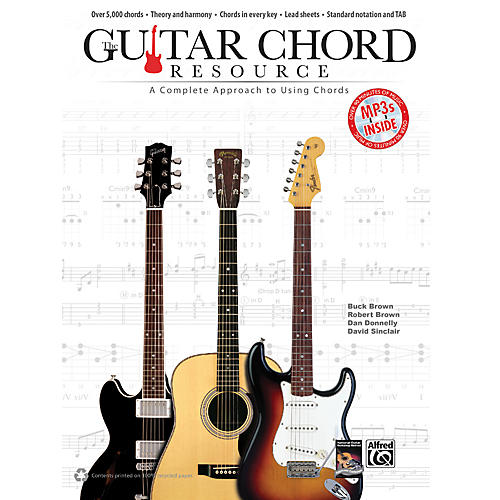 Alfred Guitar Chord Resource:  A Complete Approach to Using Chords Book & CD
