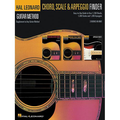 Hal Leonard Guitar Chord Scale & Arpeggio Finder