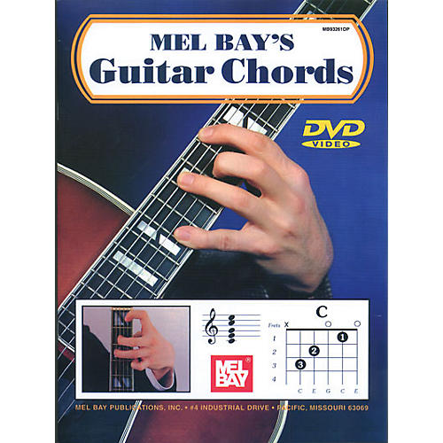 Mel Bay Guitar Chords Book & CD
