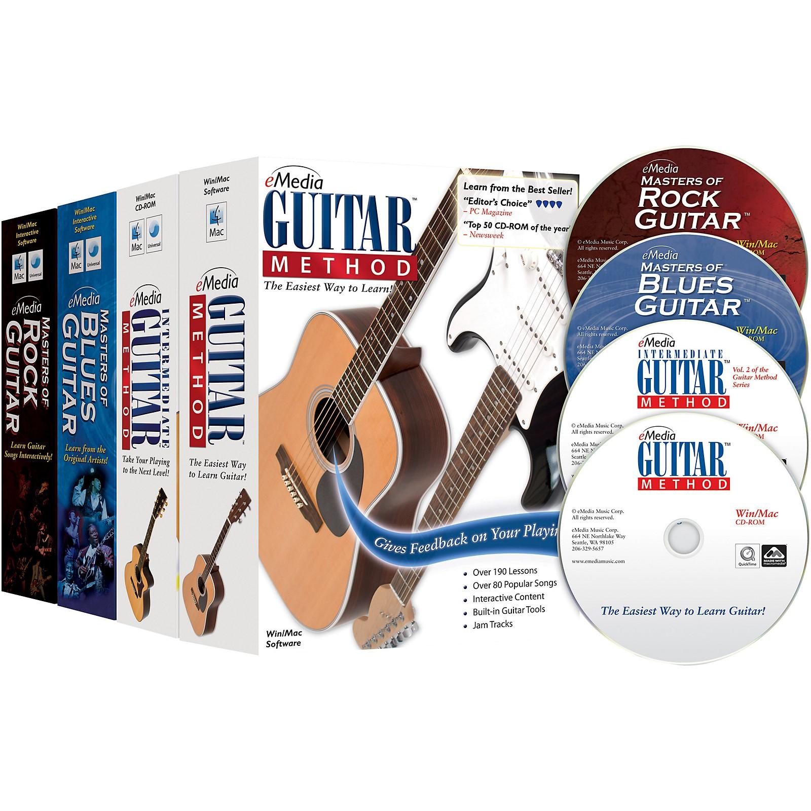 eMedia Guitar Collection (2018 Edition) - 4 Volume Set