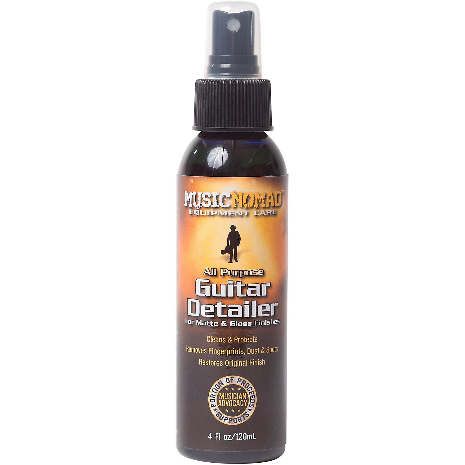 MusicNomad Guitar Detailer for Matte and Gloss Finishes