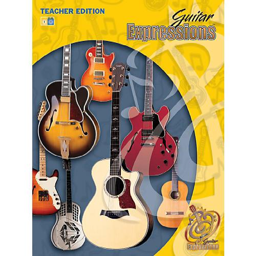 Alfred Guitar Expressions Teacher Edition Volume II Book CD & CD-ROM