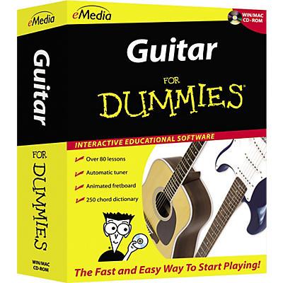 eMedia Guitar For Dummies Level 1 (CD-ROM)