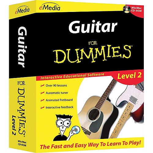 emedia guitar for dummies level 2 cd rom musician 39 s friend. Black Bedroom Furniture Sets. Home Design Ideas